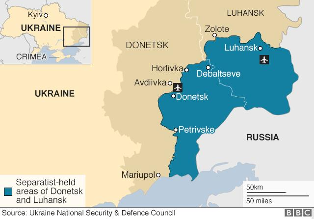 What do you think about the recent incidents on the Ukrainian border?