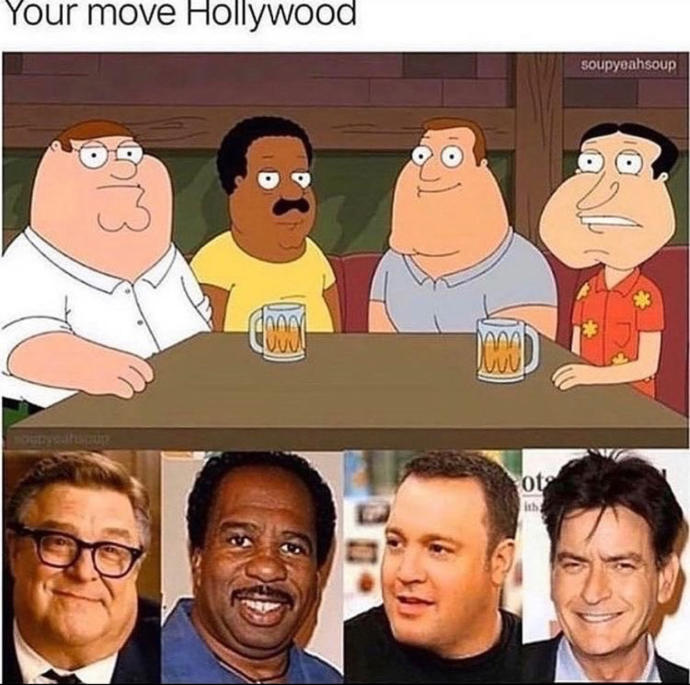 What do you think? Should Hollywood make a move?