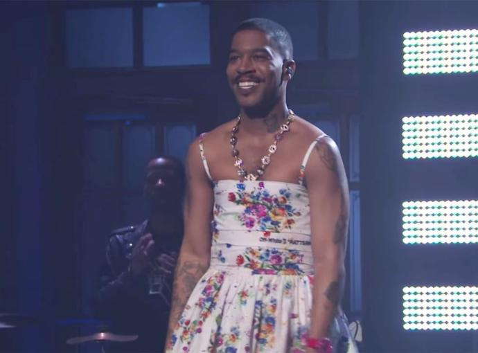 What you think about Kid Cudi wearing a dress?
