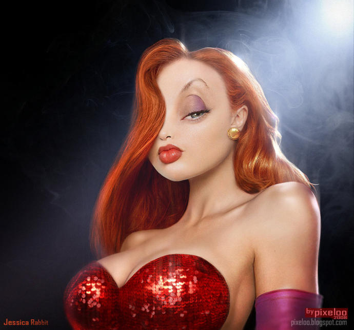 Guys did you ever want to have sex with Jessica Rabbit?