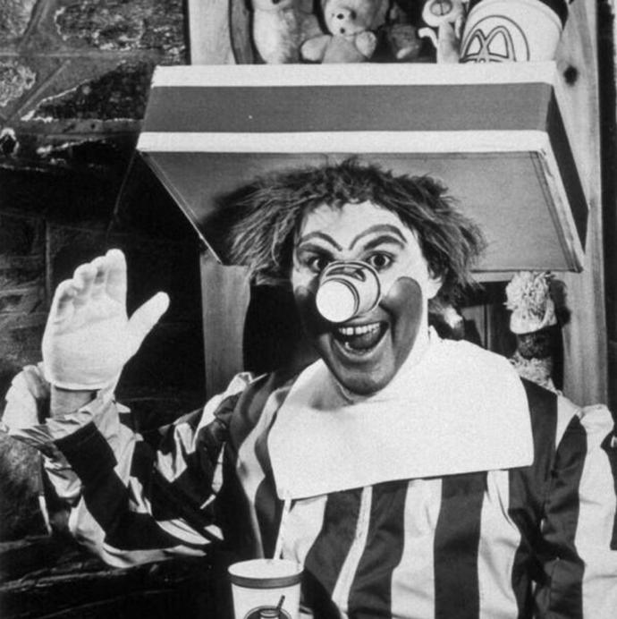 Do you think the first ever Ronald Mcdonald was family friendly?