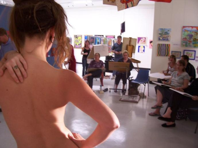 Ladies, What part would you play in a Life Drawing class?