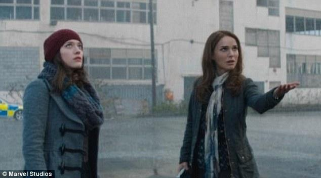 Kat Dennings is there a conspiracy within the MCU ever since Darcy first appeared in Thor to hide Kat Dennings giant boobs?