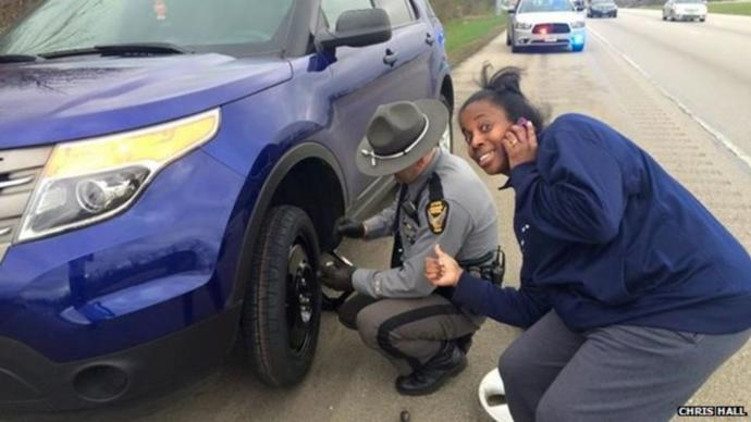 95% of cops try and help people, not kill them