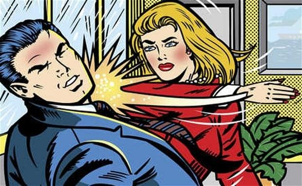 Why do some women assume men wont punch back when they are being physically punched?
