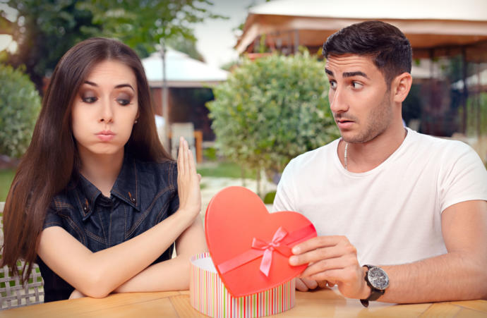 How many times have you been rejected when it comes to dating?