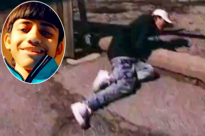 So its not all black kids who get shot by police officers, new footage shows Mexican kid shot by police while giving up... your thoughts?