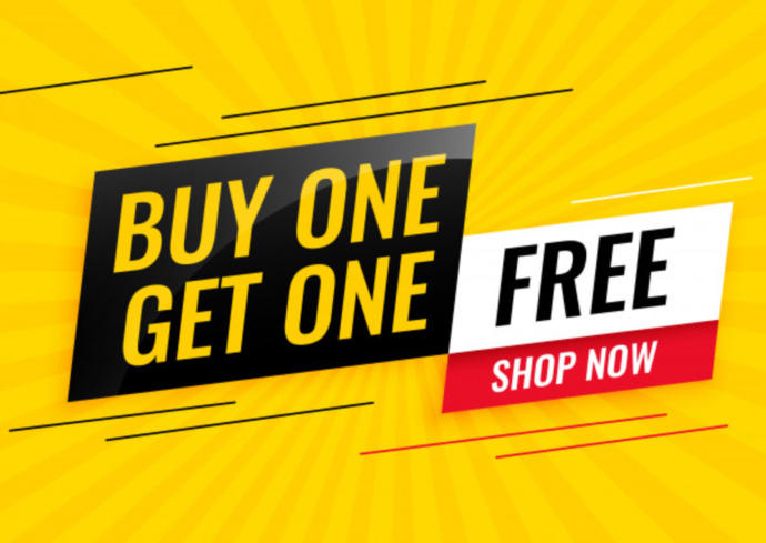 If You Were Given A BUY ONE GET ONE FREE Coupon Right Now What Would You Buy?