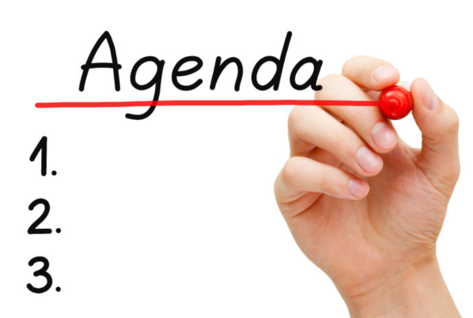 What Is On Your Agenda For Today?