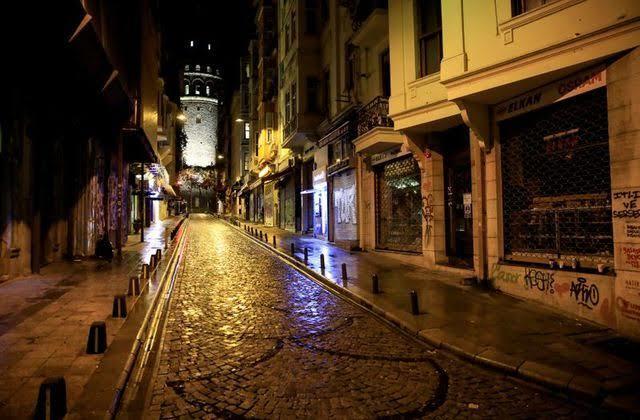 Lifeless streets