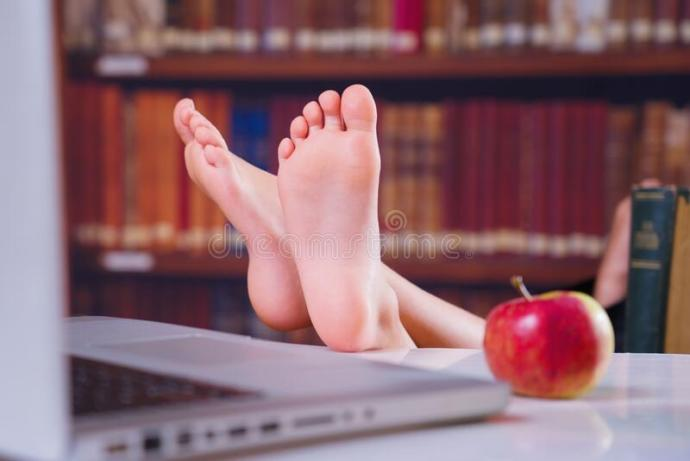 Why do people act way too comfortable at libraries?