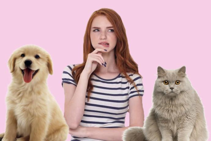 Are you a dog or a cat person?