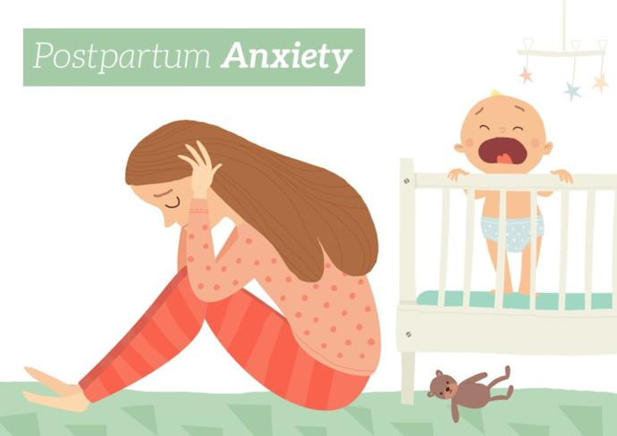Is postpartum anxiety real? How to help your partner with it?