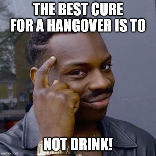 What's your hangover cure?
