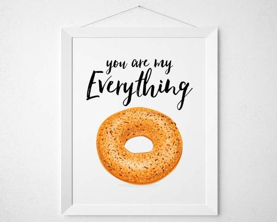 What do you like to put on bagels?