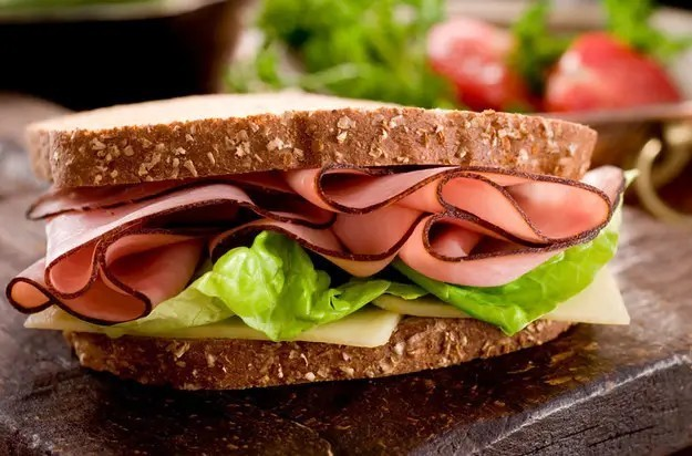 Is it true that ham sandwiches were once the most popular fast food item in the United States?