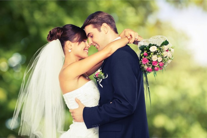 How does marriage benefit a man?