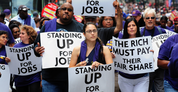 What are your general thoughts on Unions? Are you for or against them principally?