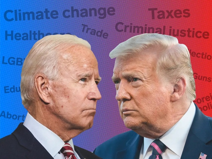 Who do you think has done a better job as president? Joe Biden or Donald Trump, and why?