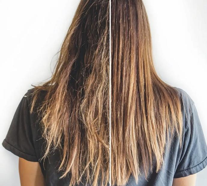 How do o get my hair straight?