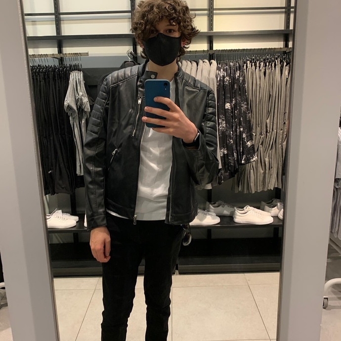 What leather jacket would look best on me?