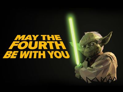 Today is May 4th, will you be celebrating National Star Wars Day?
