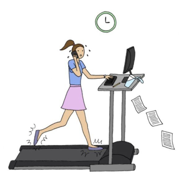 How do you keep yourself active while working from home?
