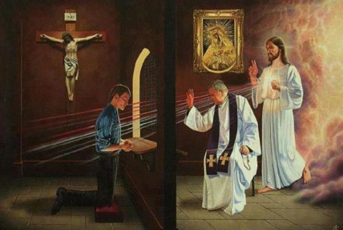 Christians, how often do you Sin and how often do you go to Confession or ask Jesus for forgiveness for your Sins?