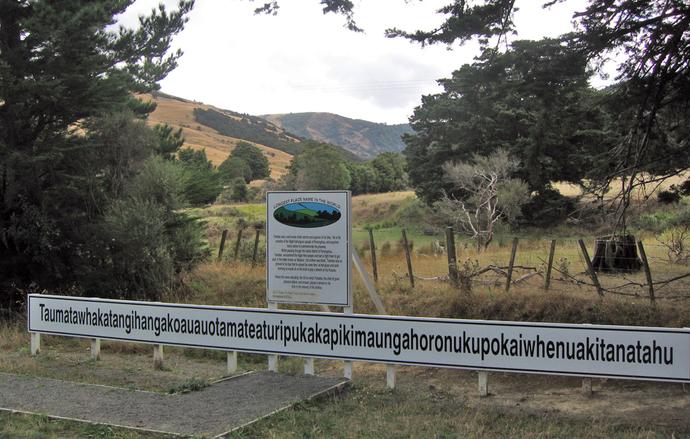 How would you like to visit Taumatawhakatangihangakoauauotamateaturipukakapikimaungahoronukupokaiwhenuakitanatahu?