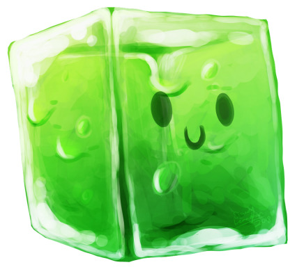 Don't you hate it too when you're trying to walk to the store and a Gelatinous Cube attacks you on the way there?