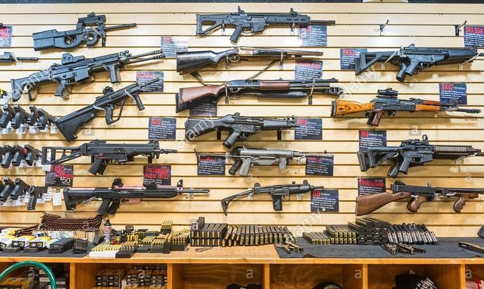 Gun collection by a FFL dealer