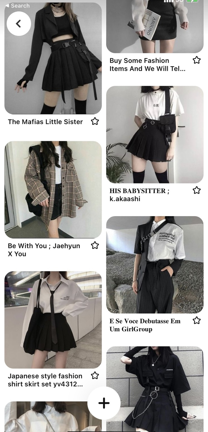 """Pick your favorite fashion style """"aesthetic"""" out of these:?"""