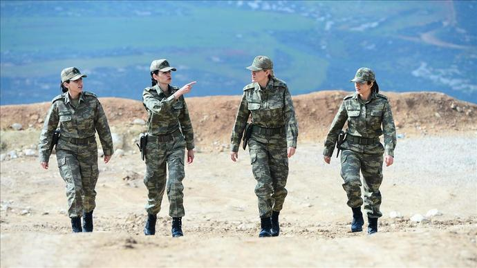 What do you think about women soldiers and police officers?
