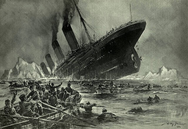 If most women on the titanic felt like it was ok for the men to die so they could like?
