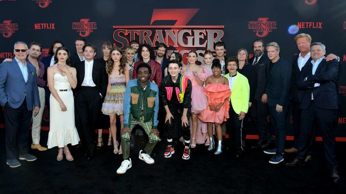 Did you ever watch Stranger Things on Netflix? what did you think of it?
