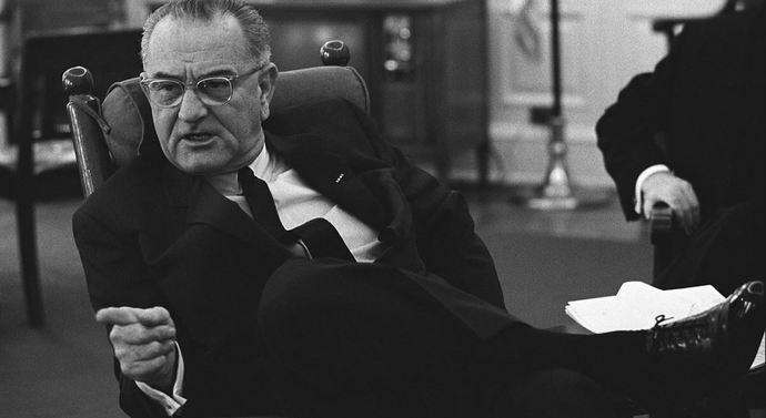 Did LBJ democrat president in the 60s really say Ill have those n****rs voting democrat for 200 years?