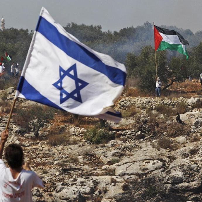 On you on the side of Palestine or Israel, why?