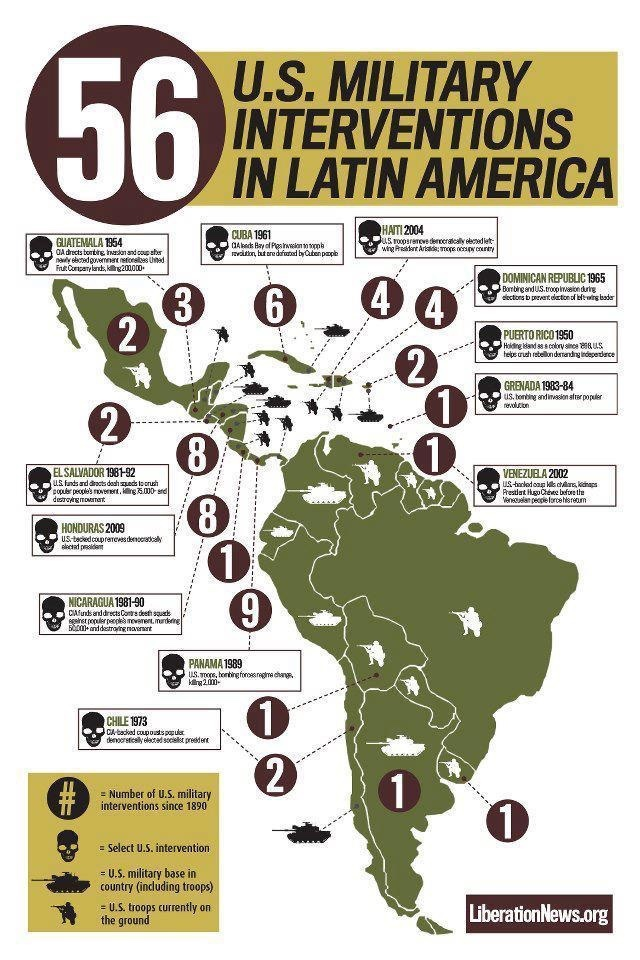 Why are you against immigration? Are you educated in US history (Latin America intervention by USA)?