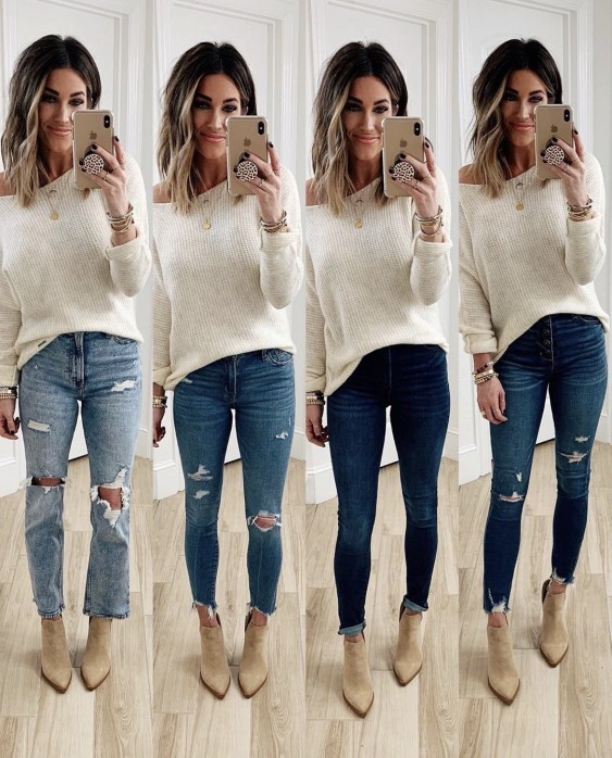 Do you find ripped jeans fashionable or trashy?