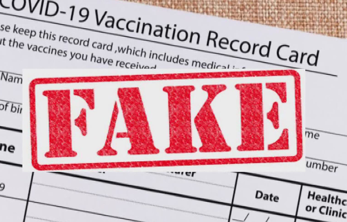 People Are Walking Around With FAKE Covid-19 Vaccine Cards, What Are Your Thoughts On That & Is Your Vaccine Card Real Or Fake?