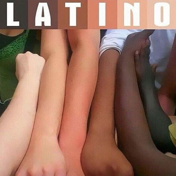 Why are most Latinos only ever seen as/represented/and or portrayed as being white?