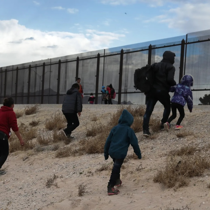 US has detained over 100k illegal migrants in this year alone. How many more? Why can't people see that we are being colonized?