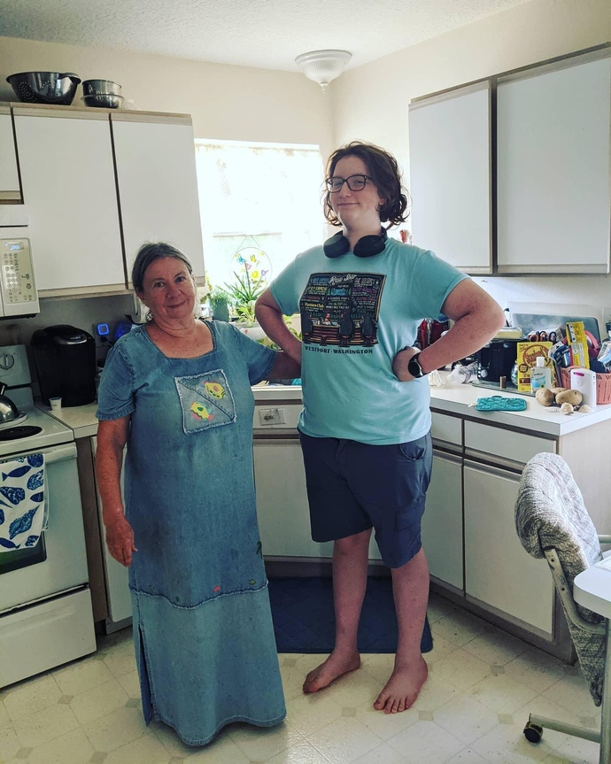 Be honest first impression of this grandma with grandson?