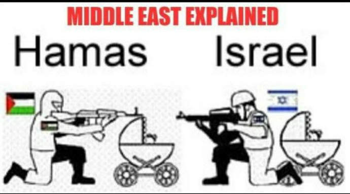 Do you support Israel or a non-existent state?