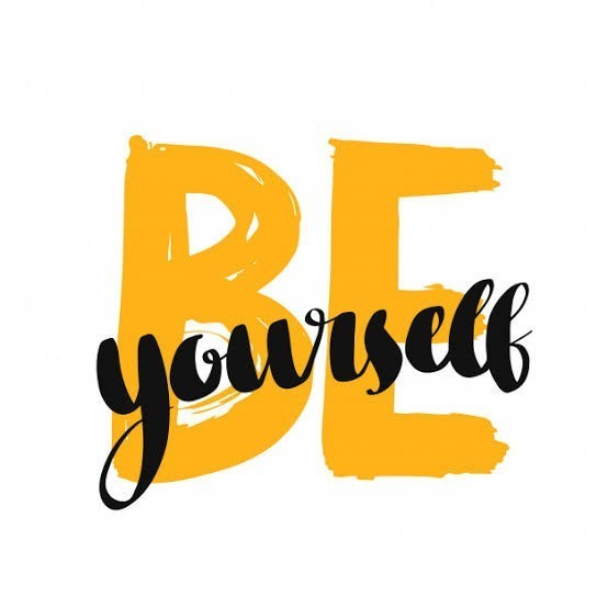What is the actual meaning of be yourself?
