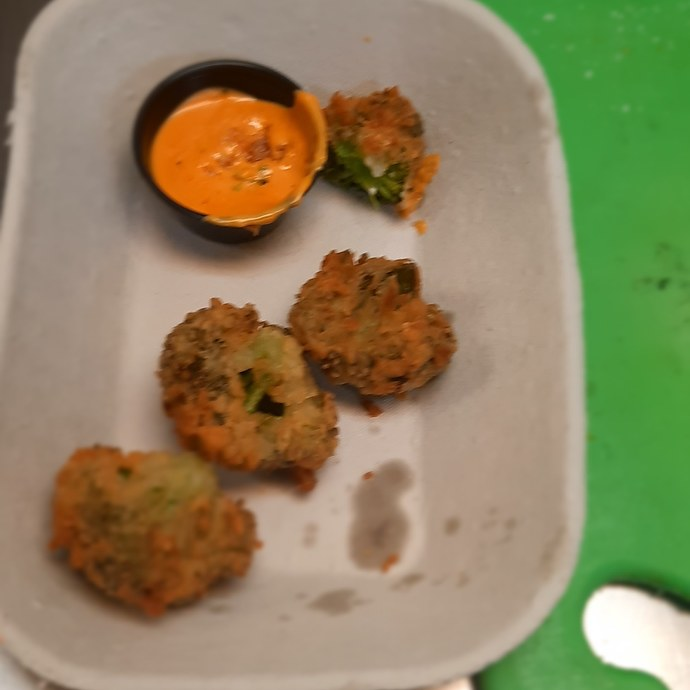 What do you think of the idea of fried broccoli?