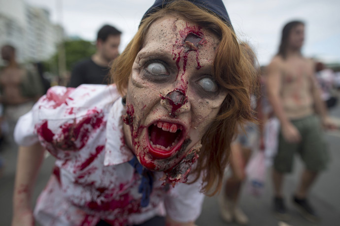 If your very close loved one was bitten by a zombie and slowly turning into one him/herself, what would you do?