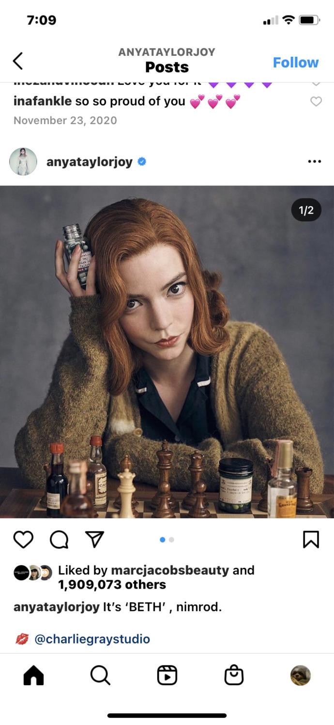 Aren't her features so unique?