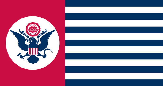 Which of these U. S. flags should comrade Biden replace the current one with?