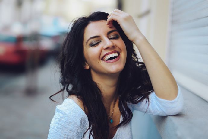 If you can get a girl to laugh, you can get her to do anything. True or false?